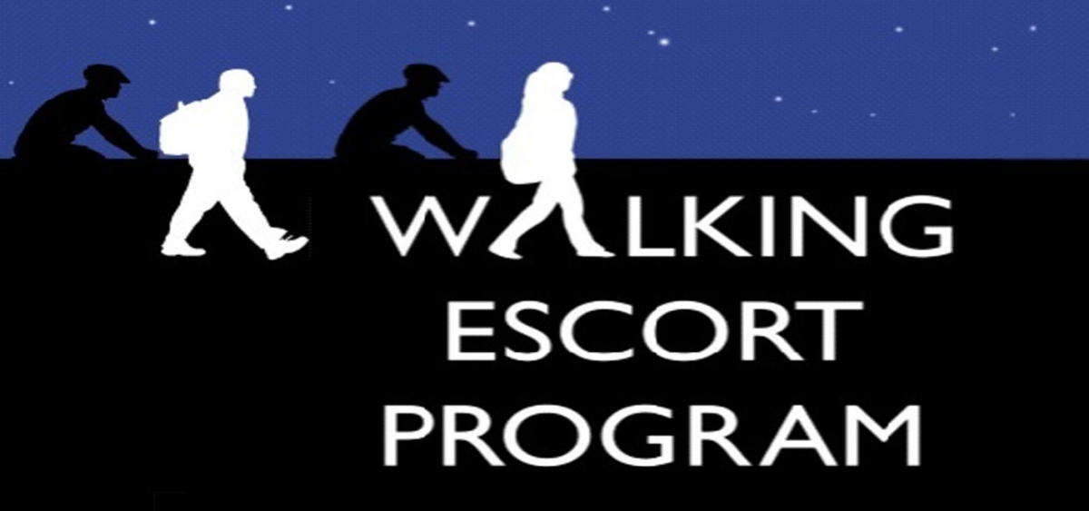 Walking escort poster
